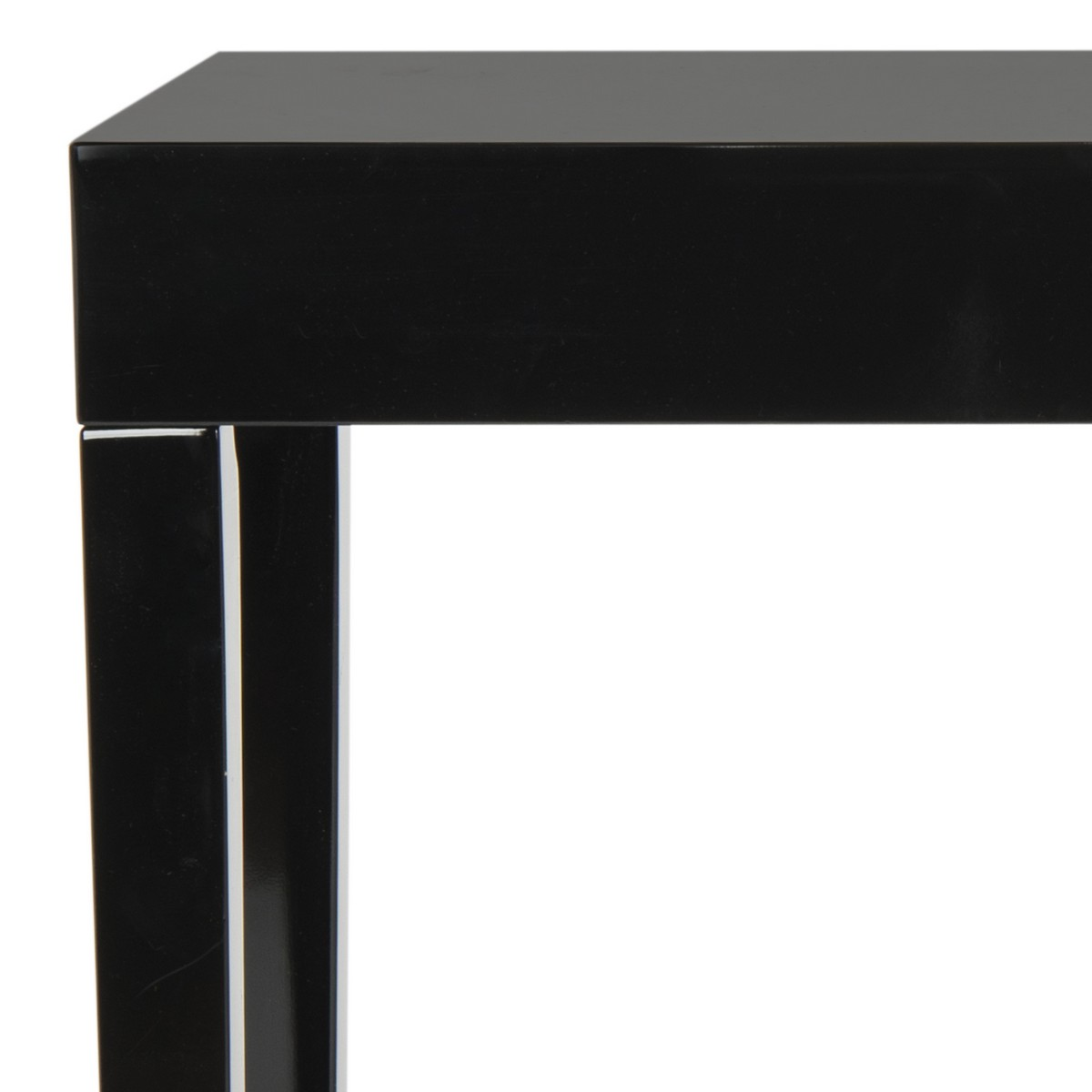 black lacquer sofa table best beds canada 2018 fox4204c consoles furniture by safavieh product details
