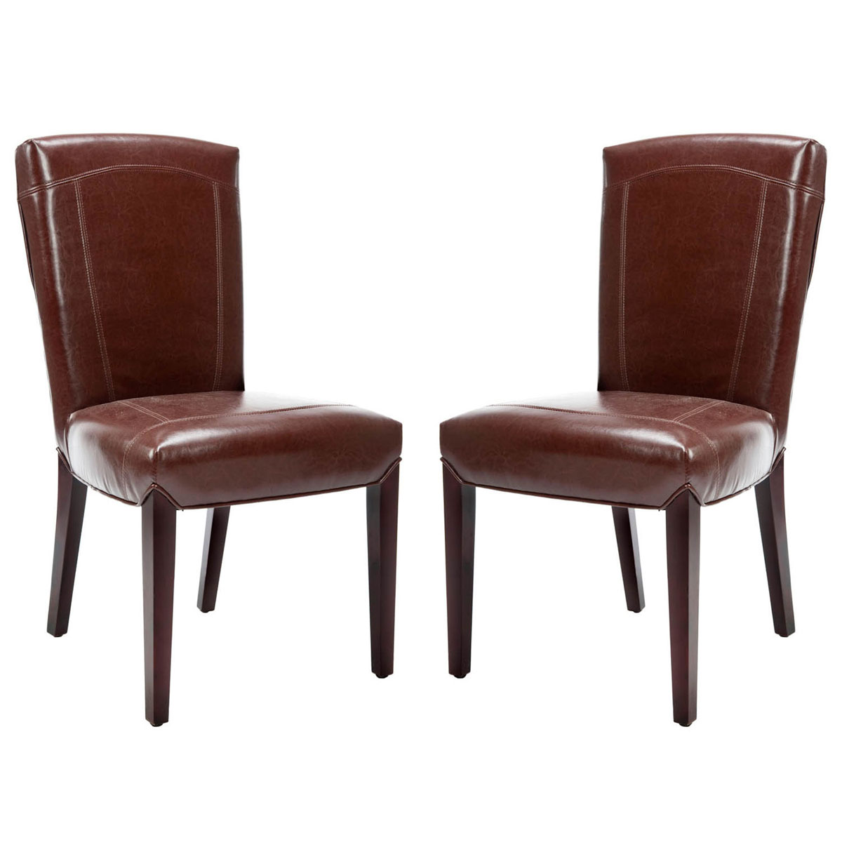 safavieh dining chairs how to reupholster kitchen hud8200a set2 furniture by