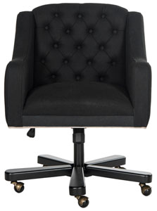 office desk chairs stressless ekornes chair i computer safavieh com salazar item mcr4210a color black taupe