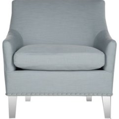 Teal Club Chair Transport Wheelchair Near Me Accent Chairs Armchairs Side Safavieh Com Page 1 Hollywood Glam Acrylic Item Mcr4214b Color Clear
