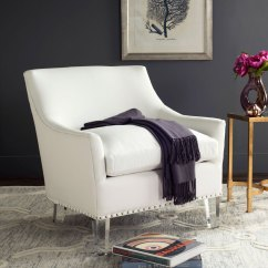 White Tufted Chair Florida Electric Pictures Mcr4214a Accent Chairs - Furniture By Safavieh