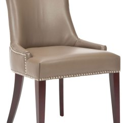 Leather Dining Chairs Little Tikes Chunky Table And Mcr4502g Furniture By Safavieh