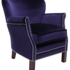 Blue Accent Arm Chair Slim Recliner Chairs Mcr4543d Furniture By Safavieh