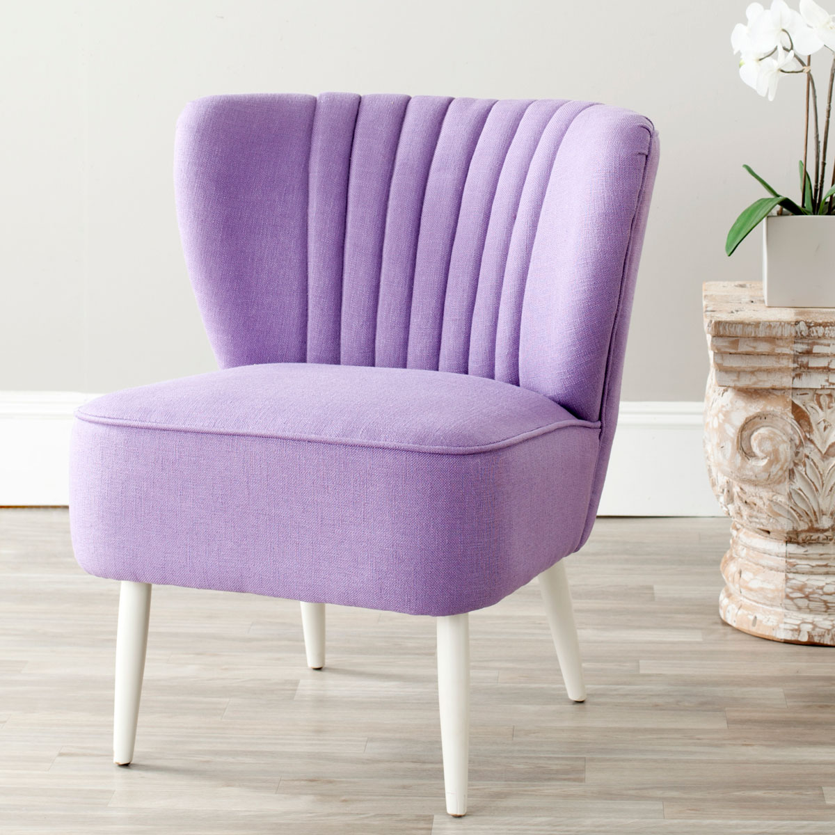 Lavender Chair Mcr4548c Accent Chairs Furniture By Safavieh