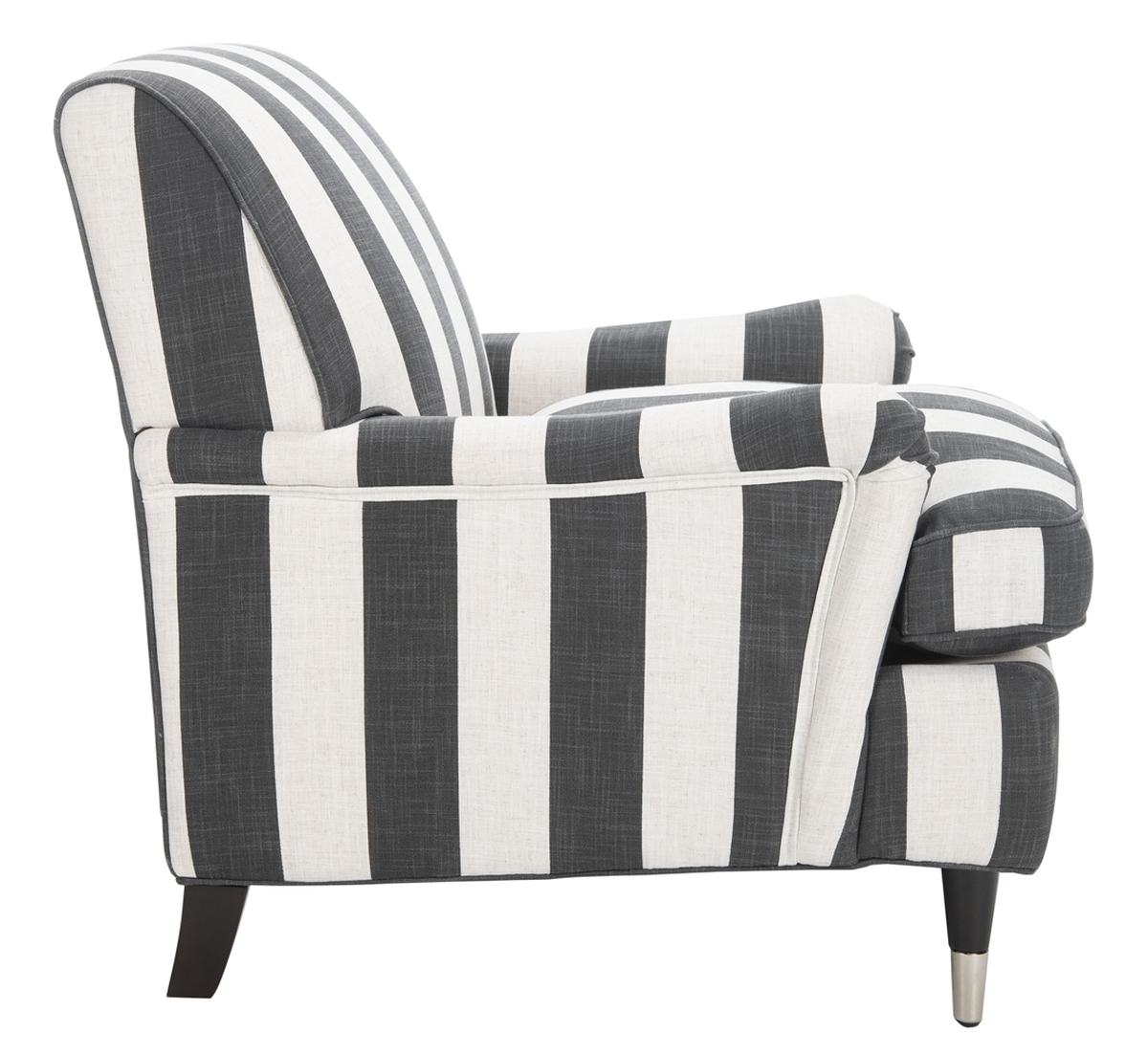 Black And White Striped Chair Striped Armchair Accent Chairs Safavieh