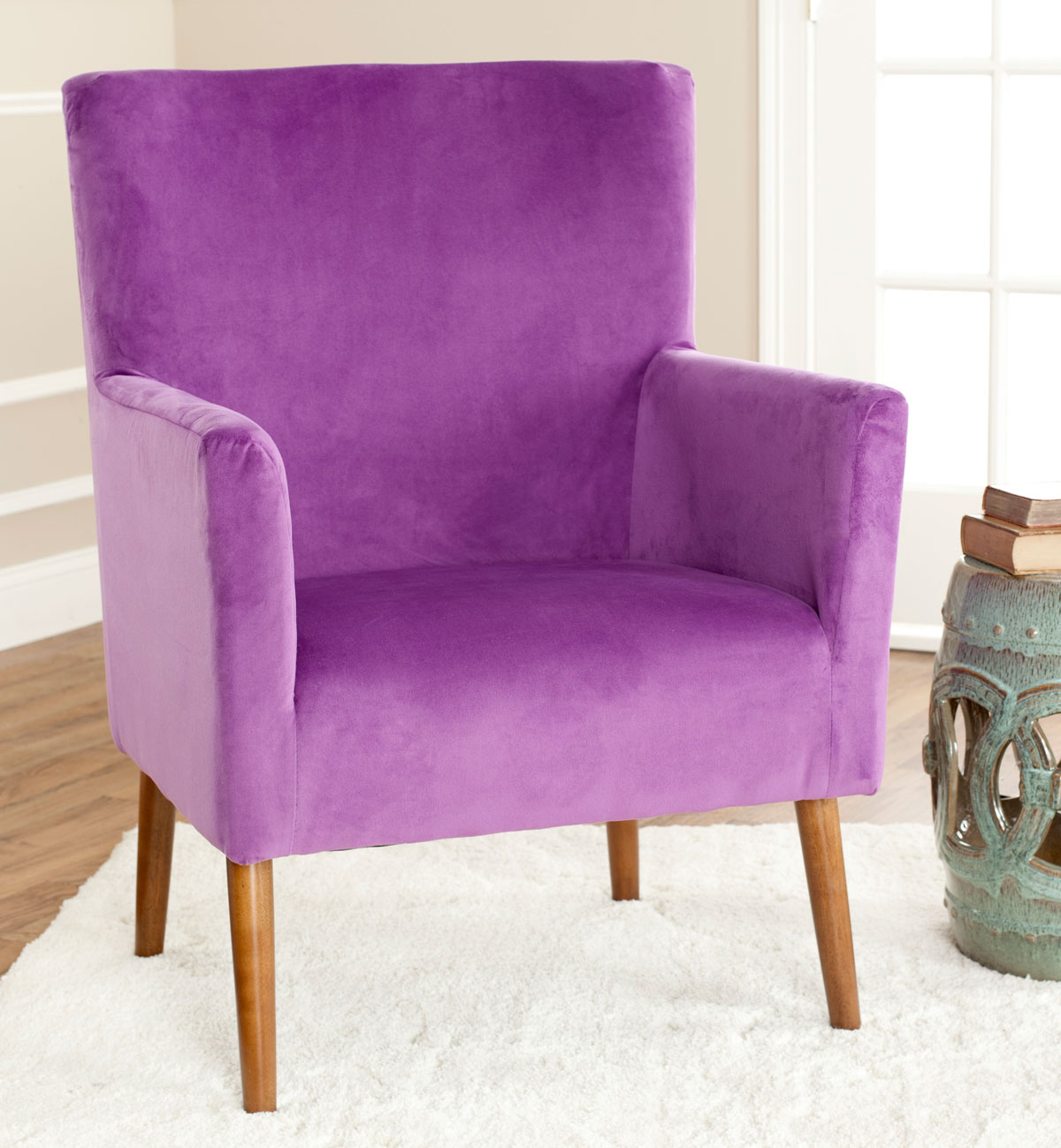 Lavender Chair Mcr4607a Accent Chairs Furniture By Safavieh