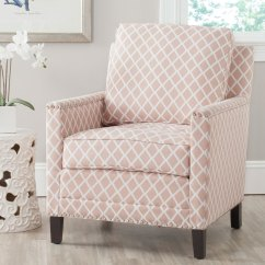 Pink Club Chair Sure Fit Parsons Slipcovers Mcr4613b Accent Chairs Furniture By Safavieh