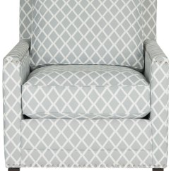 Grey And White Accent Chair Wheelchair Transport Sg Buckler Armchair Chairs Safavieh Com Share This Product