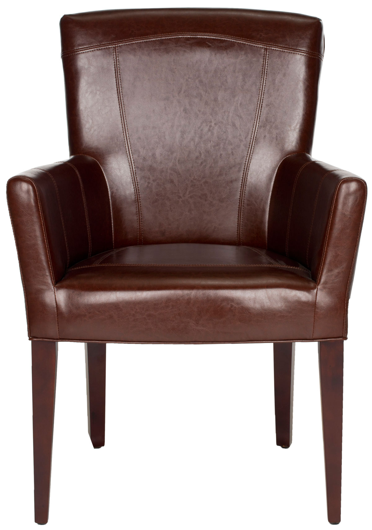 Leather Chairs Target Mcr4710a Accent Chairs Furniture By Safavieh