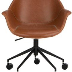 Brown Computer Chair Eames And Ottoman Desk Chairs I Office Safavieh Com Ember Item Och7002b Color Light Black