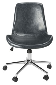 cheap desk chairs larry chair accessories i office computer safavieh com fletcher swivel item och7501c color dark grey chrome
