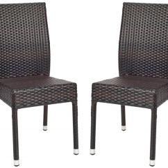 Tiger Print Dining Chairs Card Table And Costco Pat1015a Set2 Outdoor Furniture By Safavieh
