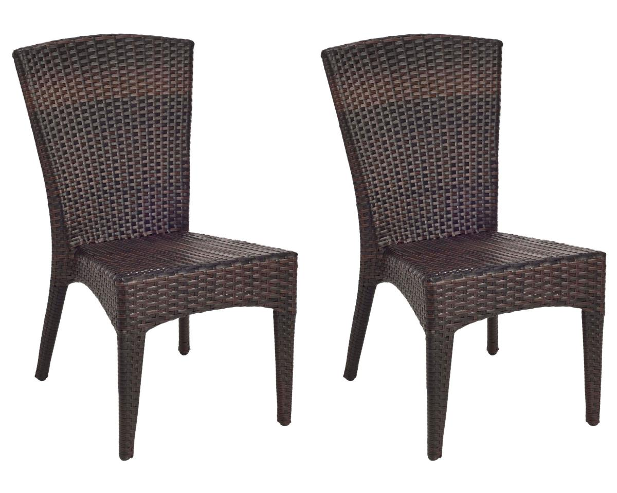 tiger print dining chairs best dorm lounge chair pat1016a set2 outdoor furniture by safavieh