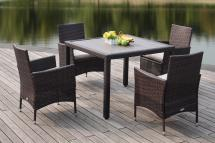 Pat2505b Patio Sets - 5 Piece Outdoor Dining