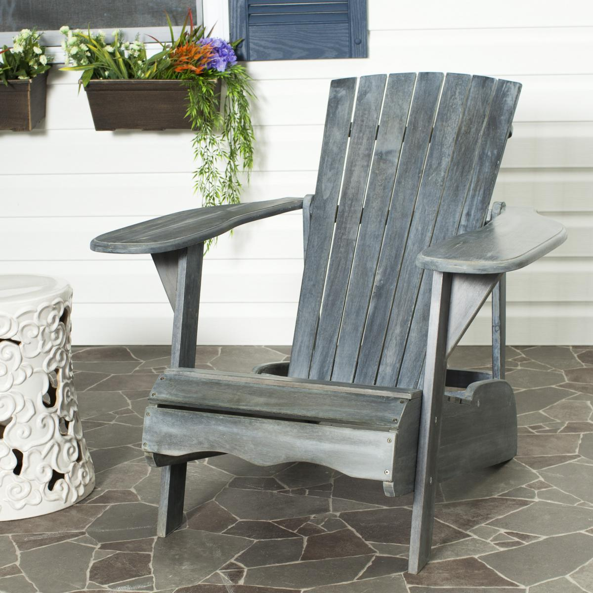 gray adirondack chairs electric recliner chair covers pat6700a furniture by safavieh