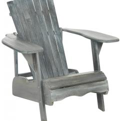 Gray Adirondack Chairs Chair Covers Hire In Liverpool Pat6700a Furniture By Safavieh