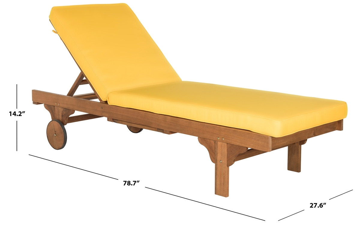 Teak Chaise Lounge Chairs Chaise Lounge Chair Outdoor Furnishings Safavieh