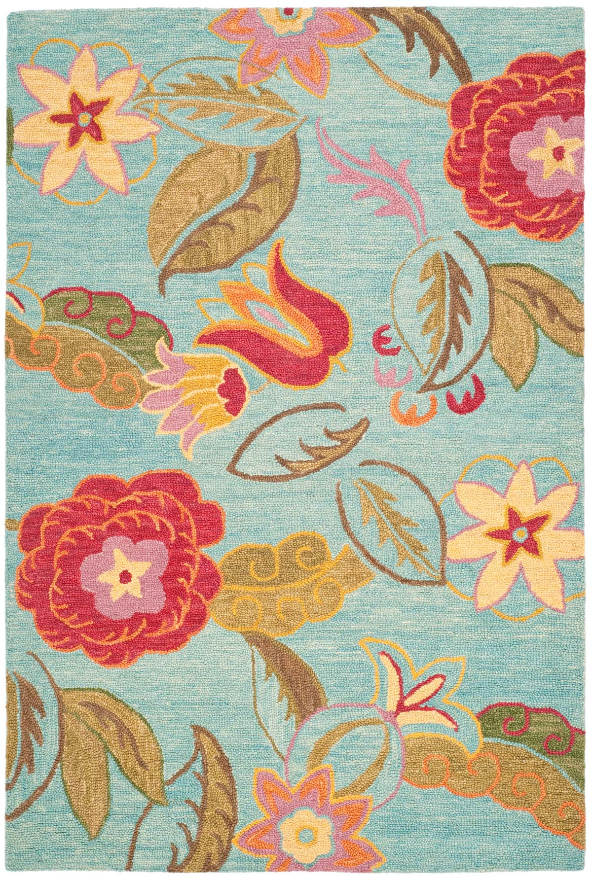 Rug BLM675A  Blossom Area Rugs by Safavieh