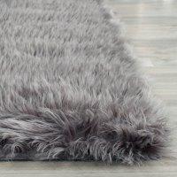 Rug FSS235D - Faux Sheep Skin Area Rugs by Safavieh