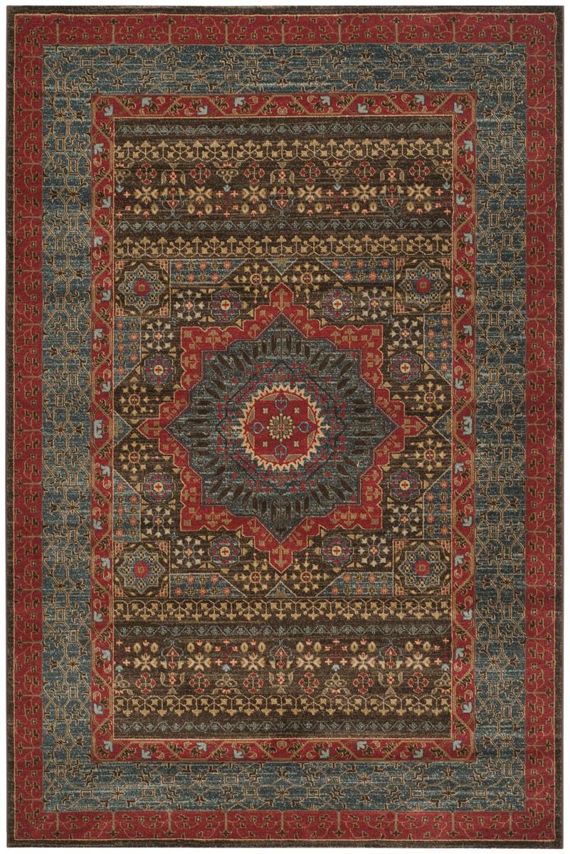 safavieh dining chairs anti slip chair mat rug mah620c - mahal area rugs by