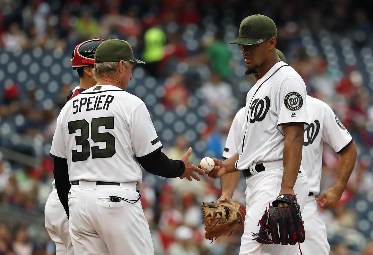 Schmipf Padres Break Out The Bats Beat Nationals 5 3 KDOW AM