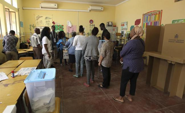 Image result for Angola votes for first new president in 38 years