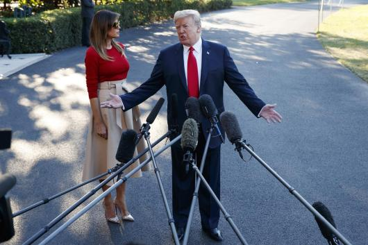 Image result for Trump Says He Still Has 'Rocket Man' CD for Kim