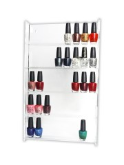 nail polish stand wall mounted