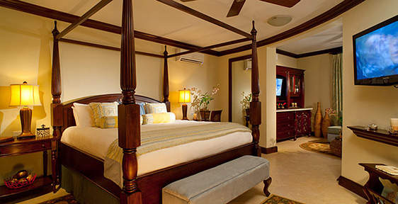 Millionaire Suites at Sandals Negril Resort Jamaica