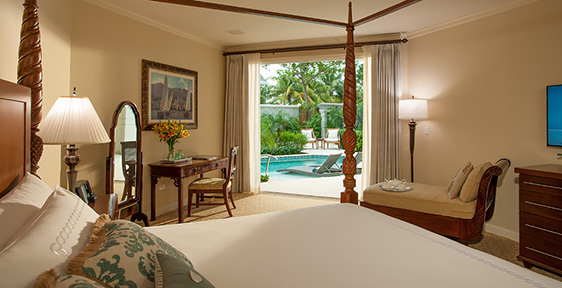 Rooms  Suites at Sandals Royal Bahamian Resort  Sandals