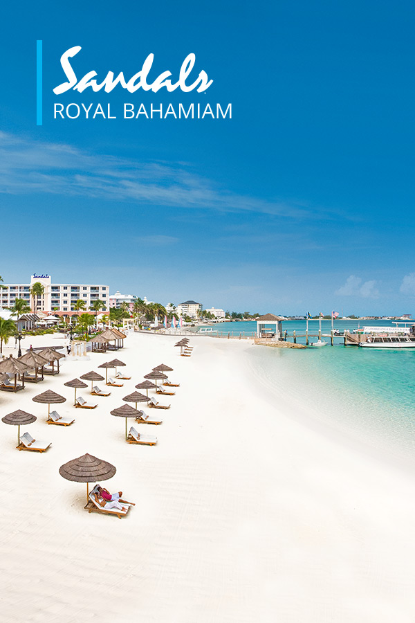 Sandals Royal Bahamian Luxury Resort in Nassau  Sandals