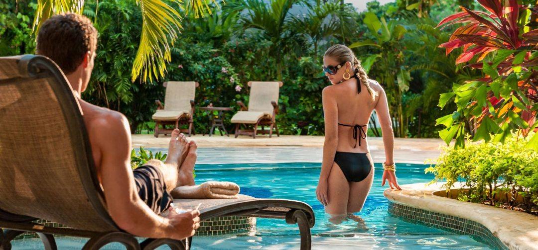 Swim Up Lagoon Suites at Sandals Royal Caribbean
