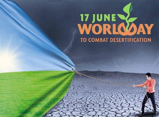 Παγκόσμια Ημέρα κατά της Ερημοποίησης και της Ξηρασίας