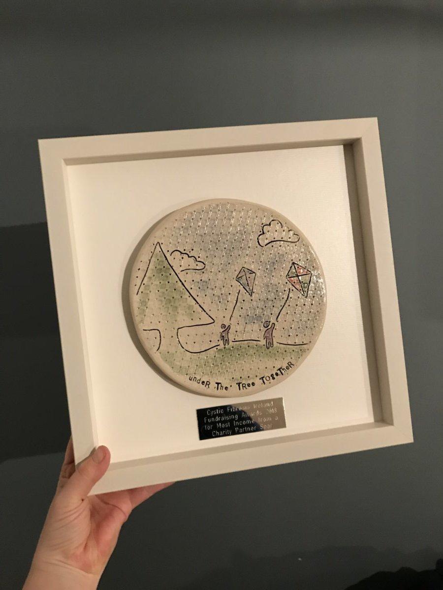 bespoke hand drawn tile framed wall art in 4 sizes