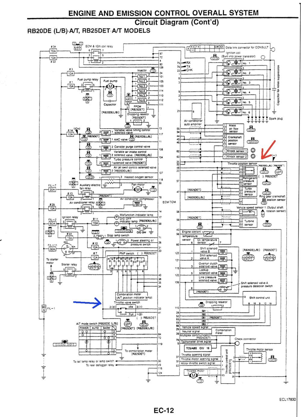 medium resolution of rb25det tps wiring diagram