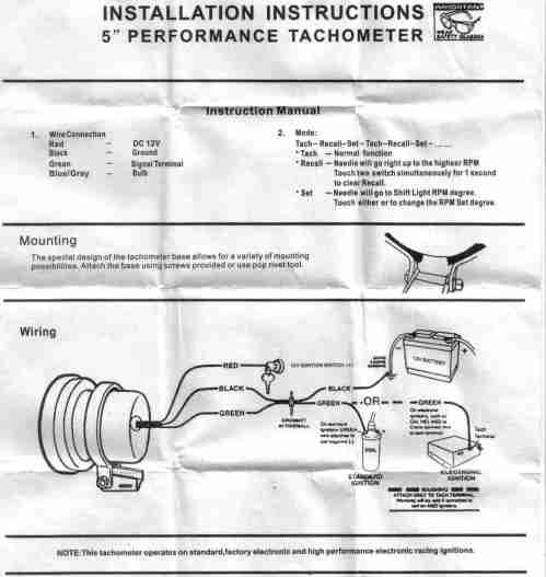small resolution of help wiring a monster tacho cosmetic styling respray sau tachometer wiring function