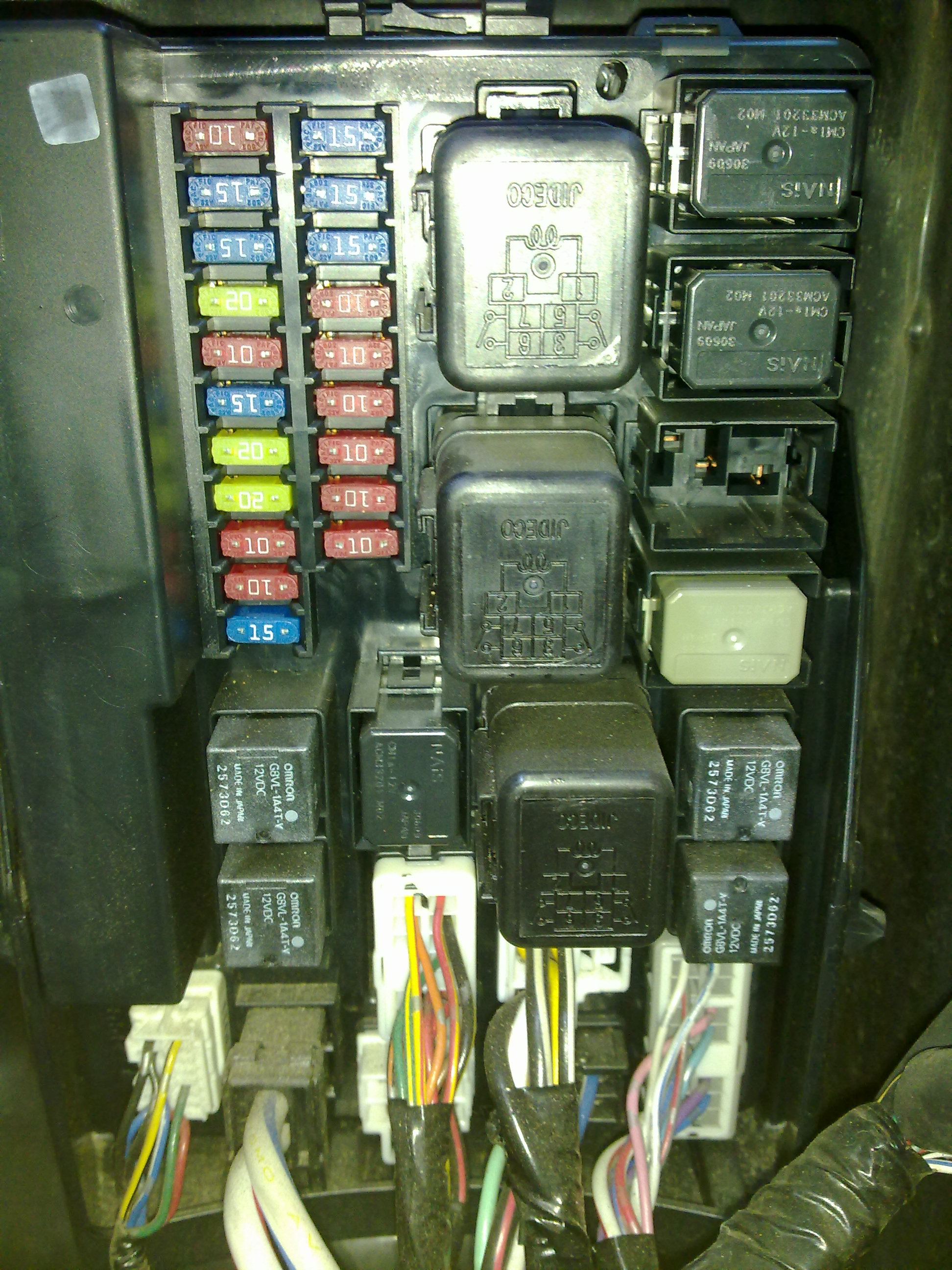hight resolution of 2006 g35 fuse box location