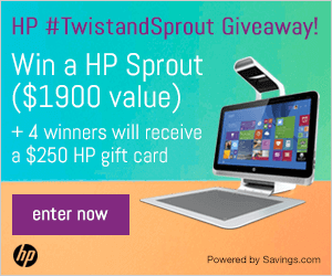 HP #TwistandSprout Giveaway