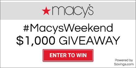 Macy's $1,000 Giveaway