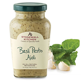 stonewall kitchen aioli espresso table basil pesto | the savory pantry