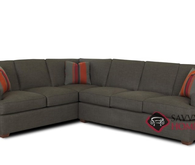 Lincoln True Sectional Sleeper With Queen Bed