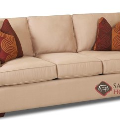 Queen Sofa Bed No Arms Grey Leather Sleeper Halifax Fabric Sofas By Savvy Is Fully ...