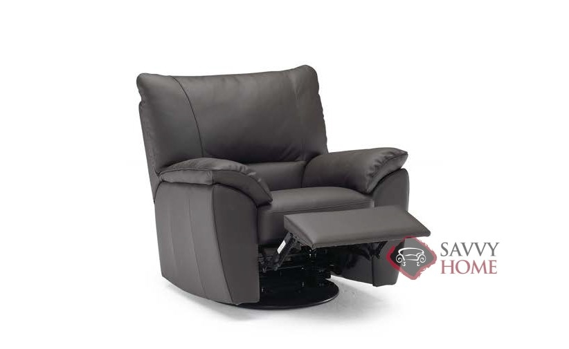 natuzzi lounge chair deck covers trento b632 leather reclining by is fully 004 editions
