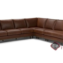 Large Chaise Sofa Leather Low Back Designs Bevera Stationary Sectional By Natuzzi Is