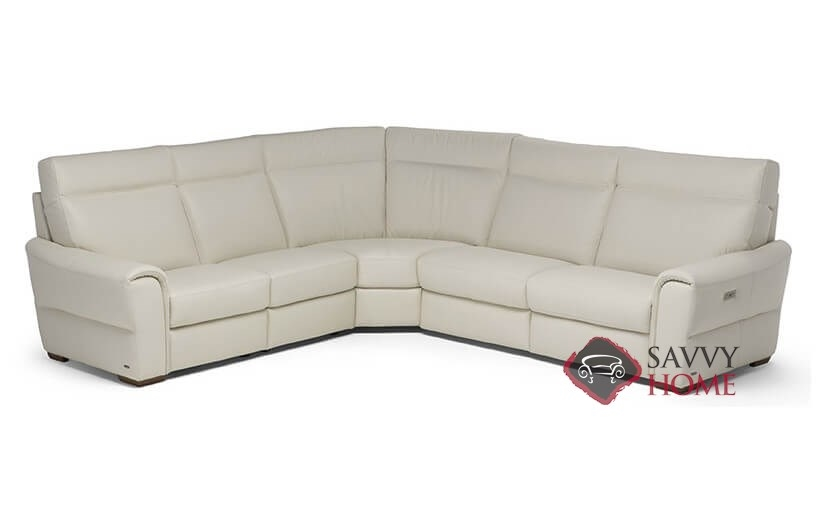 topino power reclining leather true sectional by natuzzi editions c046 514 638 029 638 515