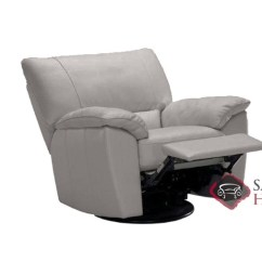 Natuzzi Lounge Chair White Bohemian Hanging Trento Manual Reclining Leather By Editions In Denver B632 004 Medium Grey