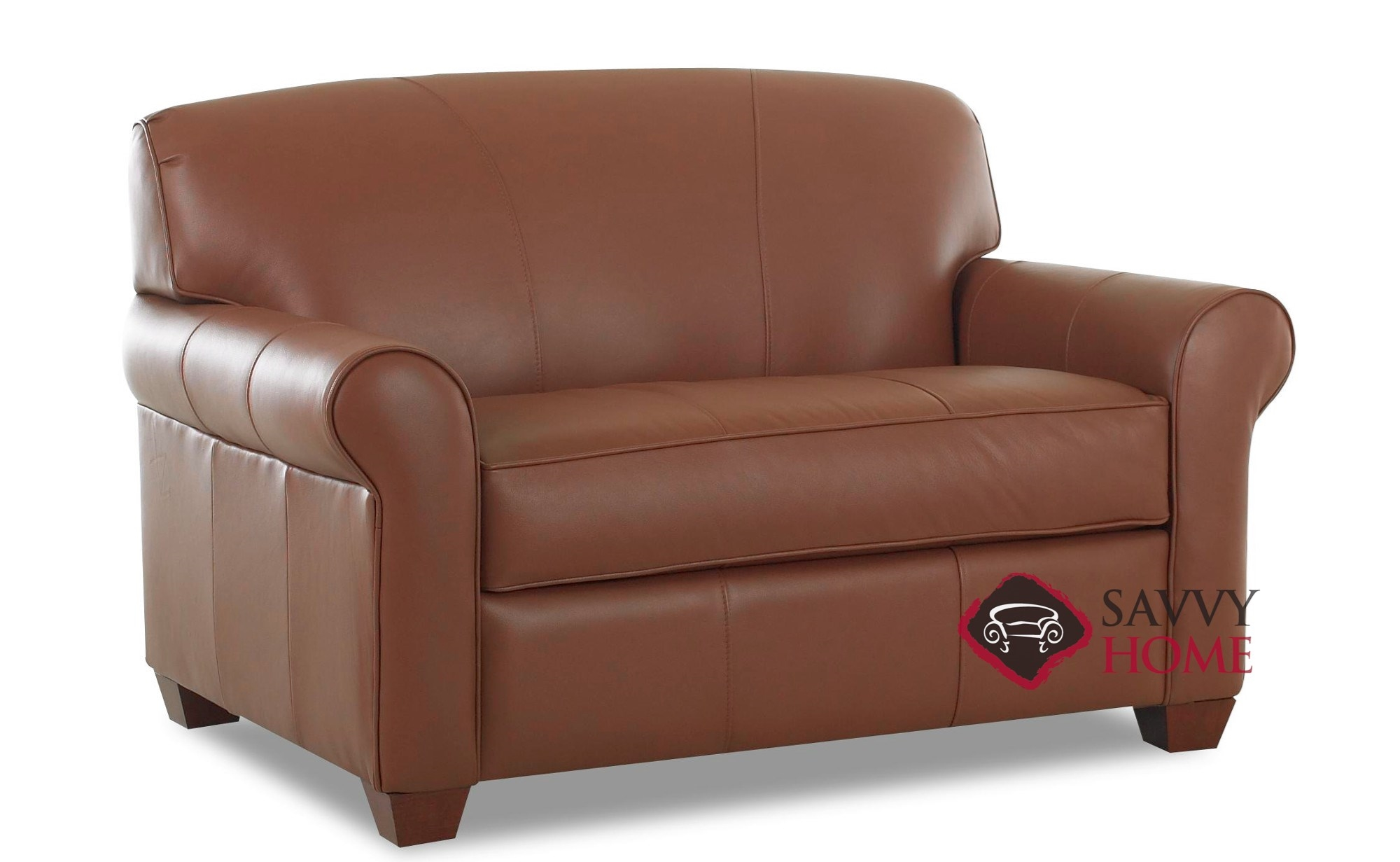 sofa mart leather chairs wall lissoni calgary sleeper sofas chair by savvy is fully