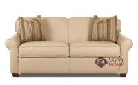 Calgary Leather Sleeper Sofas Full by Savvy is Fully ...