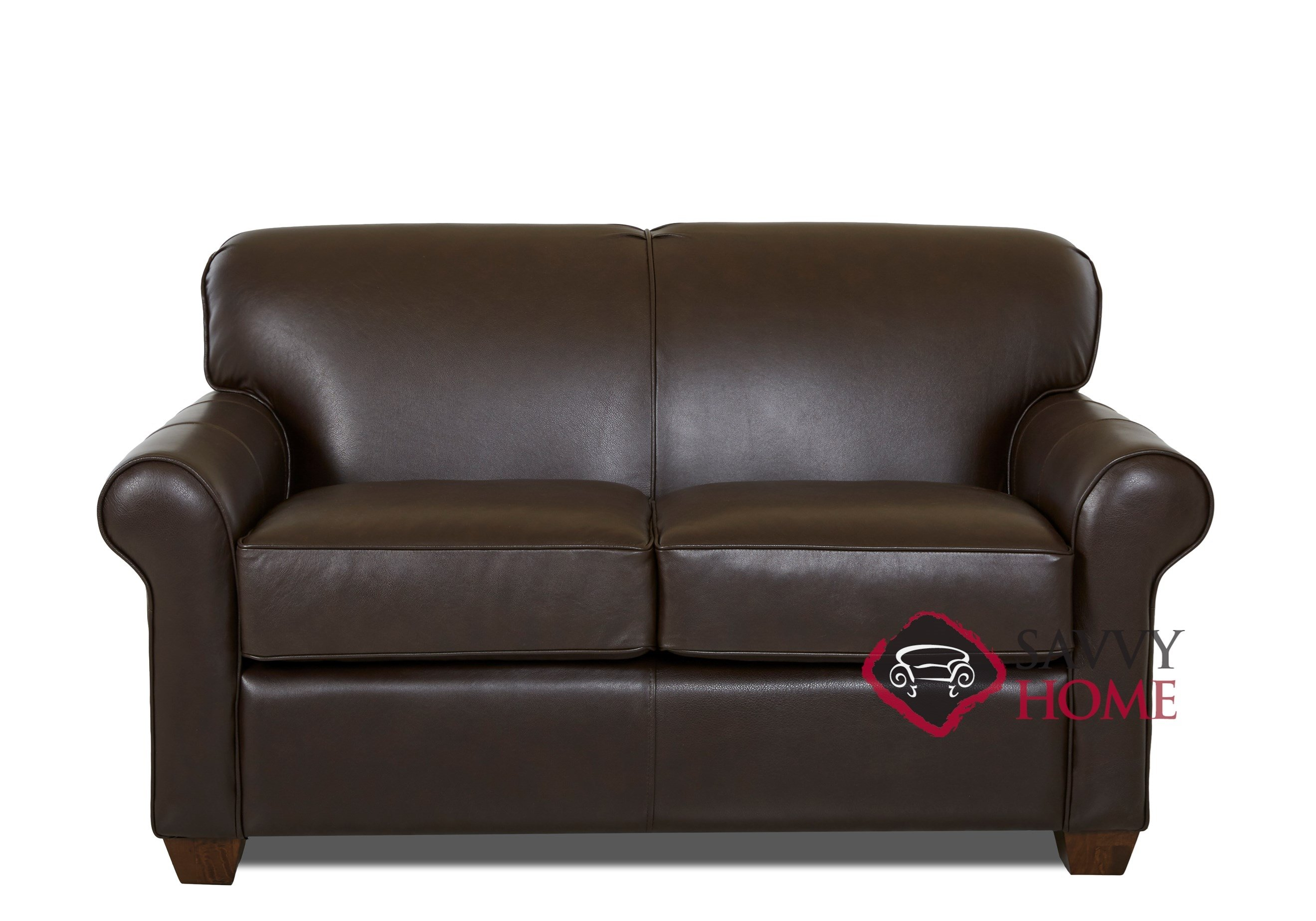 twin sofa bed leather ashley faux calgary sleeper sofas by savvy is fully