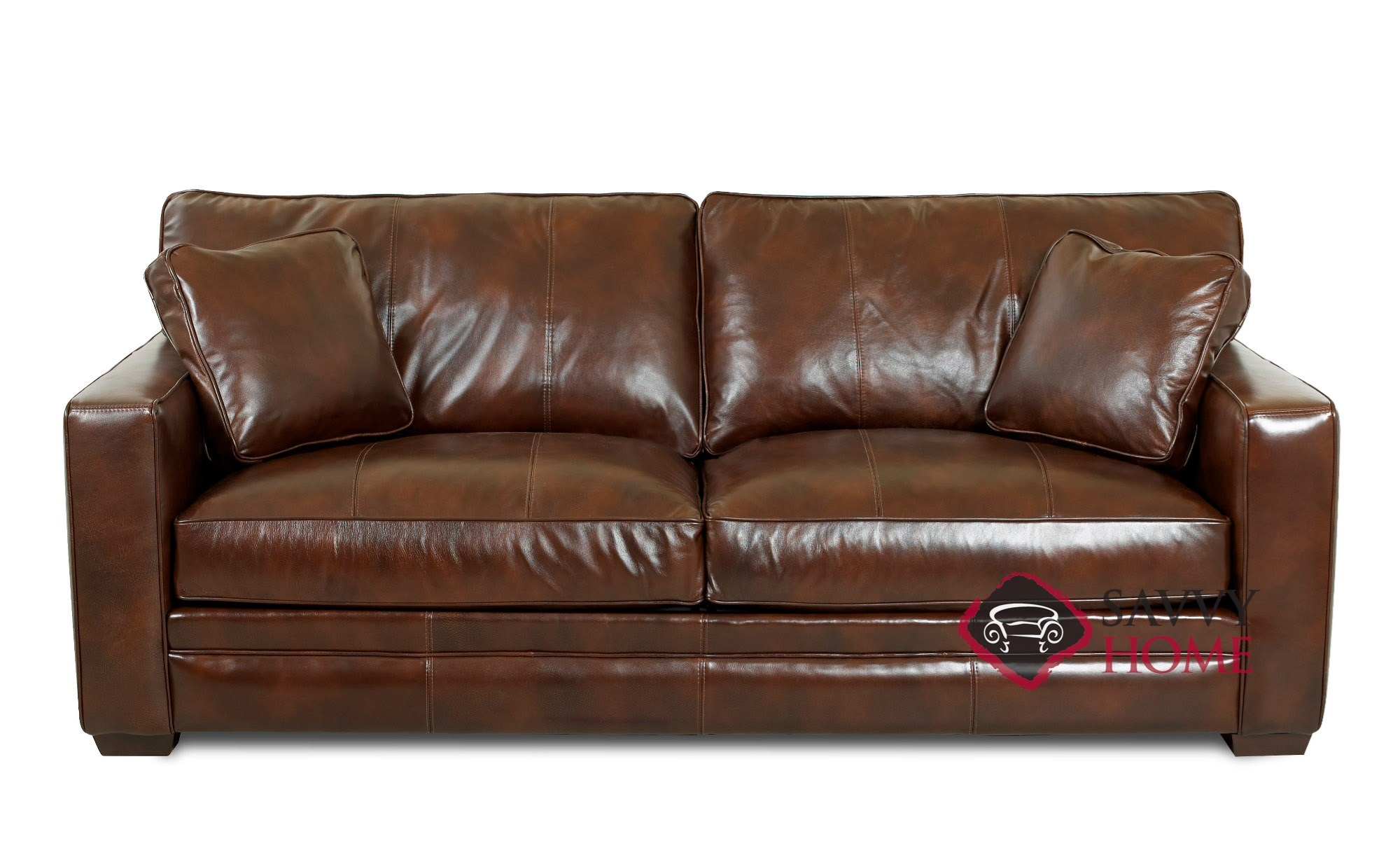 leather sectional sleeper sofa queen patio set clearance chandler sofas by savvy is fully